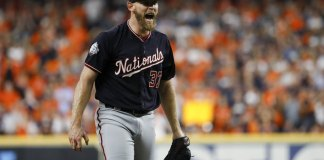 Strasburg Stars as Nats Rout Astros 12-3 for 2-0 Series Lead