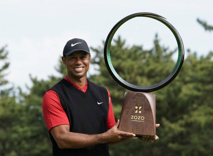 Tiger Woods Wins Zozo Championship for Record 82 PGA Tour Wins
