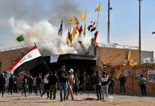 Militiamen Withdraw from US Embassy but Iraq Tensions Linger