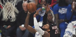 Clippers Ride Big 4th Quarter to Beat Heat 128-111