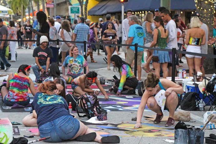 Lake Worth Street Painting Festival Chalks Up Success