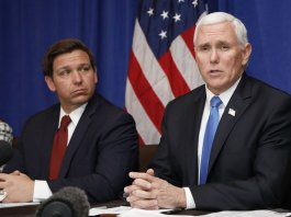 Pence in Florida to Speak at Club for Growth amidst Virus Scare