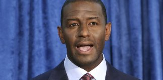 Andrew Gillum Named in Room where Crystal Meth was Found