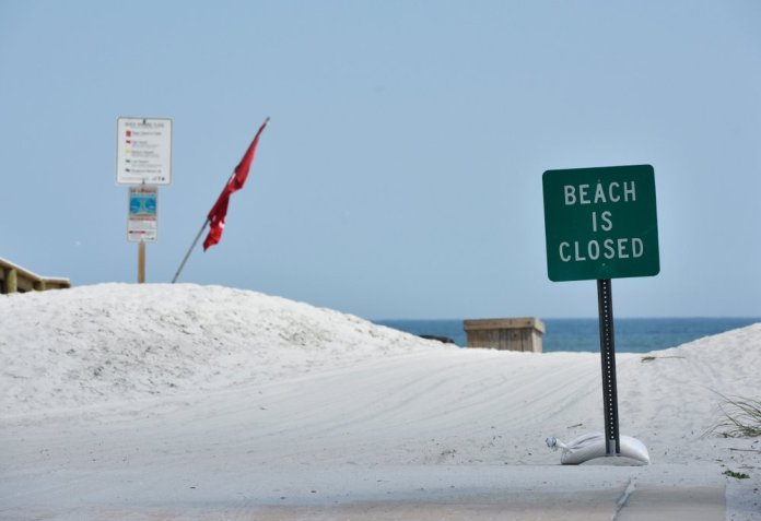 Governor DeSantis gave the green light for some beaches and parks to reopen