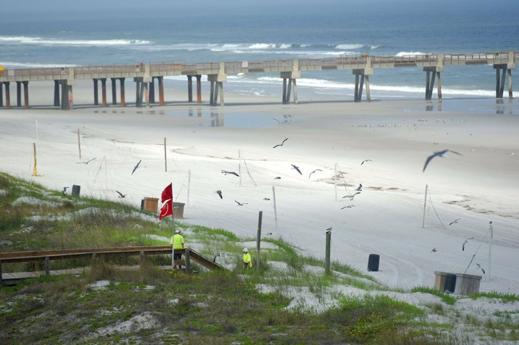 Governor gives some Florida beaches green light to reopen