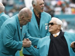 Don Shula, the NFL's most winningest coach who led the Miami Dolphins to two Super Bowl titles, died Monday at the age of 90.