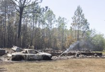 Firefighters continue battling fires in Florida Panhandle