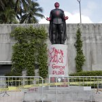 7 arrested for vandalizing Columbus statue in Miami