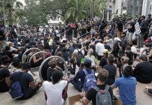 Protesters in Florida demand end to racism, police abuse