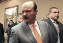 Ex-Mexico governor arrested in Miami on extradition request
