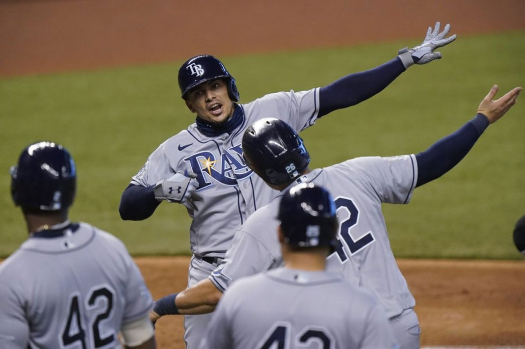 Adames hits grand slam, surging Rays beat Marlins for sweep