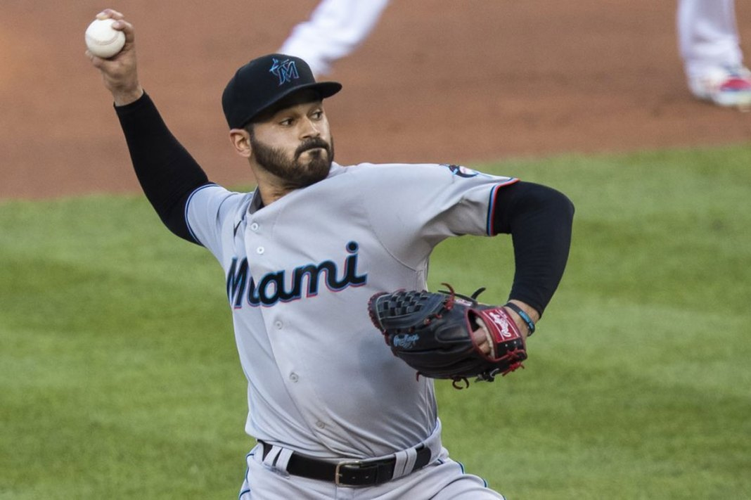 Aguilar drives in 3 runs, Marlins outlast Nationals 11-8