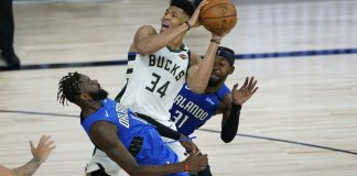 Bucks bounce back, beat Magic 111-96 in Game 2 to tie series