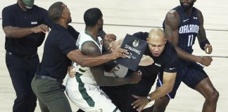 NBA fines Magic's Ennis, Bucks' Williams $15,000 for fight