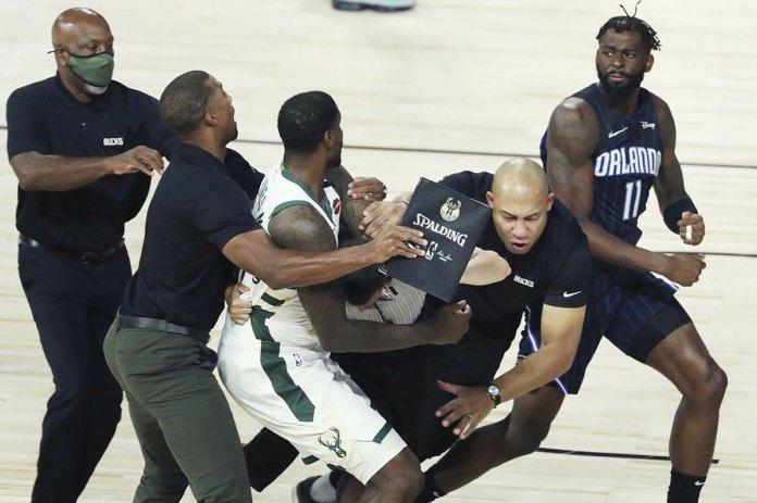 NBA fines Magic's Ennis, Bucks' Williams $15,000 for fight