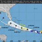 New Tropical storm poses potential hurricane threat to Florida