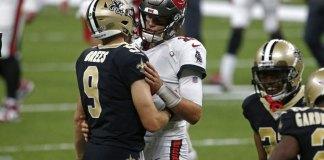 Brady's Bucs debut a flop with 2 INTs; Saints win 34-23