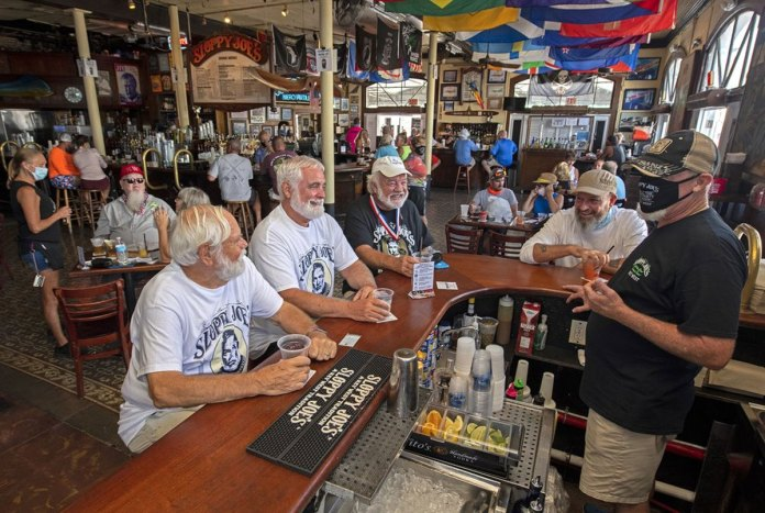 Hemingway's favorite Key West bar reopen from virus shutdown