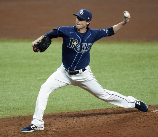 Yarbrough ends 16-game skid, Rays beat Nationals 6-1