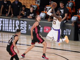 Lakers run past Heat for 17th NBA championship