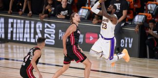 Lakers run past Heat for 17th NBA championship