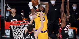 Lakers top Heat 102-96, take 3-1 lead in NBA Finals
