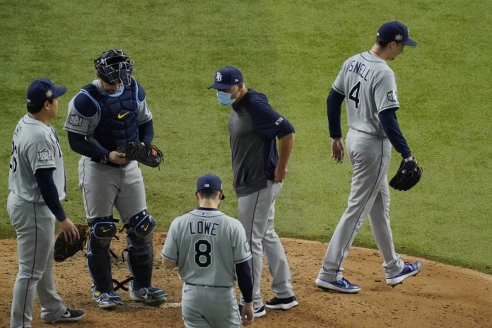 Rays manager roasted for pulling Snell in Game 6