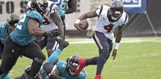 Texans send Jaguars to 7th consecutive loss, 27-25