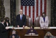 Biden win confirmed after pro-Trump mob storms US Capitol