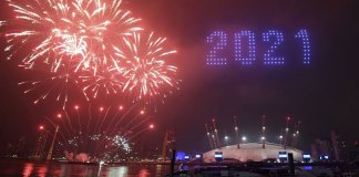 Curtain draws on 2020, New Year's Eve celebrated like no other