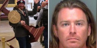 Florida Man identified in photo carrying Pelosi's lectern arrested