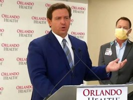 Gov. DeSantis warned hospitals against stockpiling vaccinations