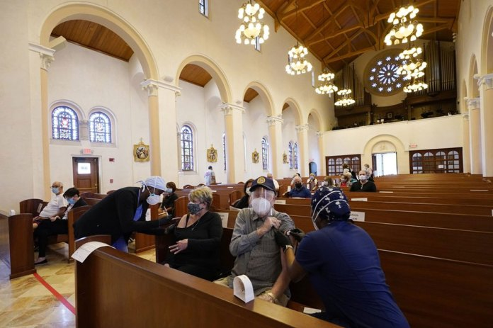 Firefighters, faith leaders team up to vaccinate vulnerable