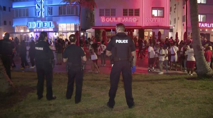"Police chief says Miami partying ""couldn't go on any longer"""