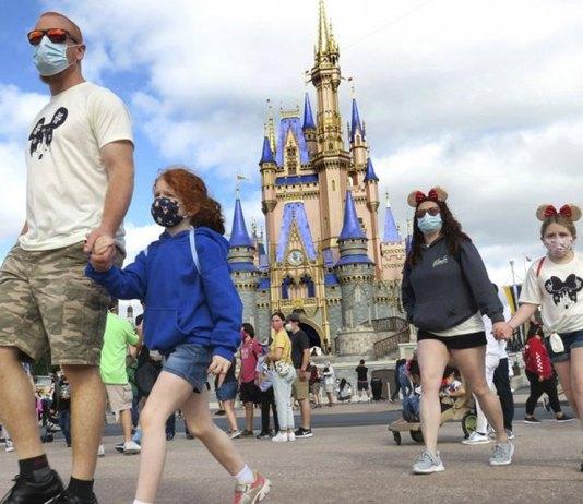 At Disney World, smiles won't be hidden for much longer