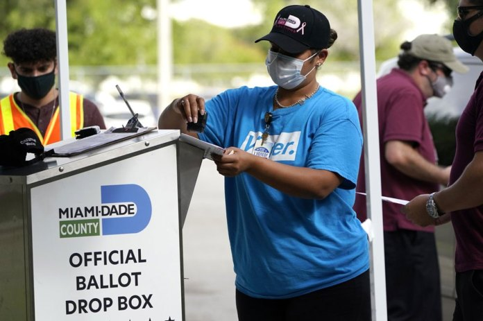 GOP targets ballot drop boxes in Florida and elsewhere