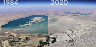 Google Earth adds time lapse video to depict climate change