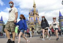 Disney World and Universal Studios loosen pandemic mask requirements