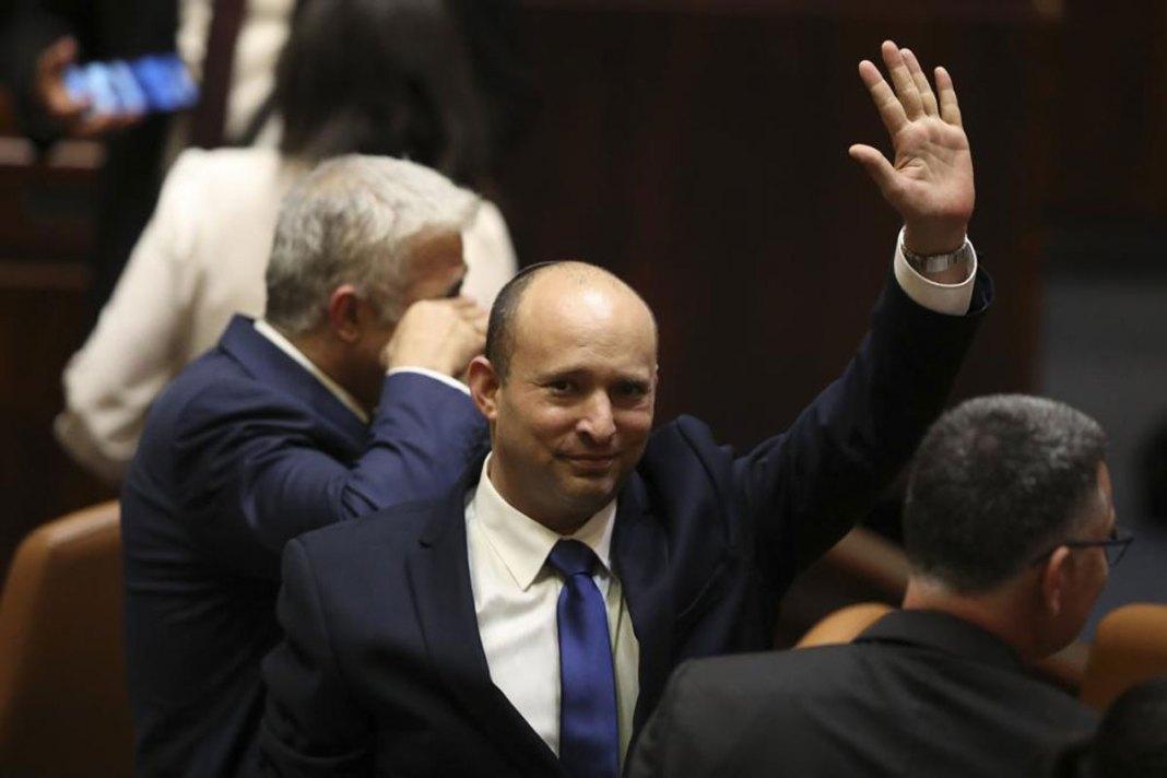 Israel swears in new coalition, ending Netanyahu's long rule