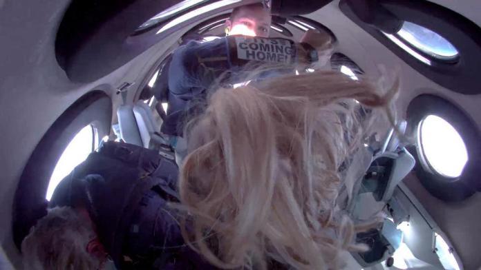 Billionaire Richard Branson reaches space in his own ship 1