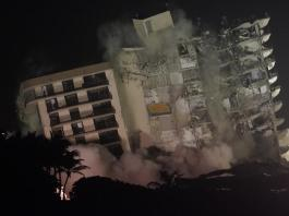 Explosives bring down rest of Surfside collapsed condo