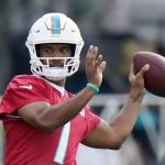 Tua's voice more assertive starting 2nd camp with Dolphins