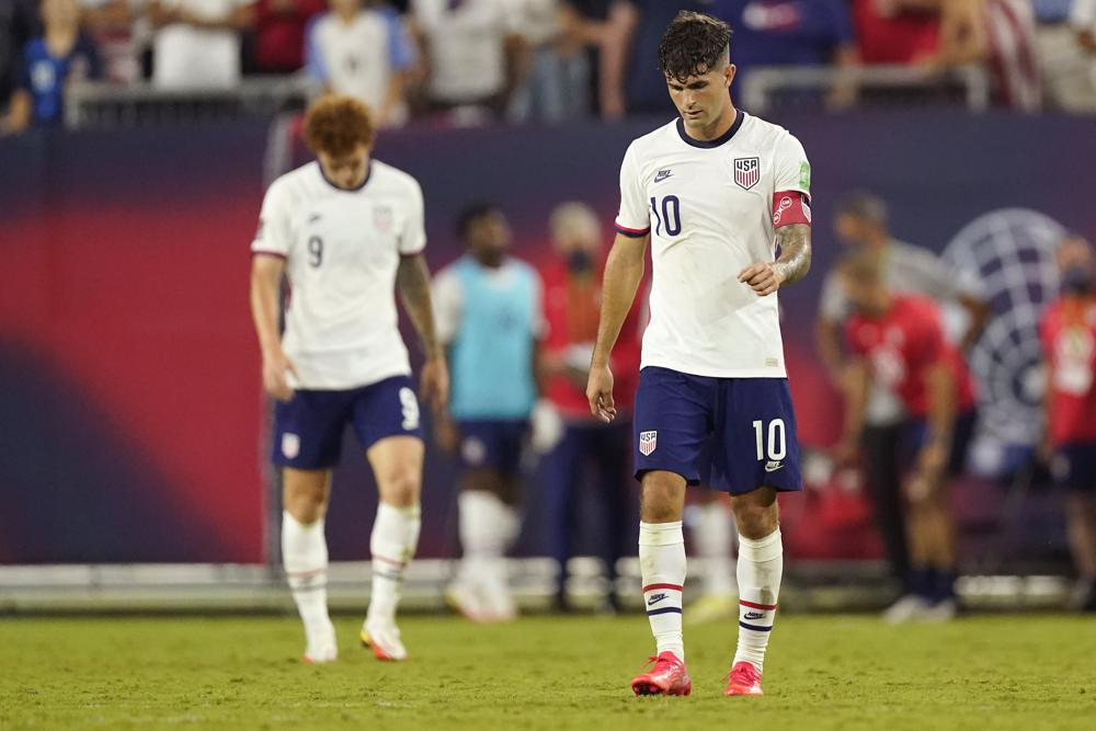Pressure mounts on US after 2 draws in World Cup qualifying