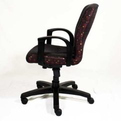 Purple Task Chair Better Posture Office Affordable Used Chairs In Orlando Steelcase Gentry Fabric Padded