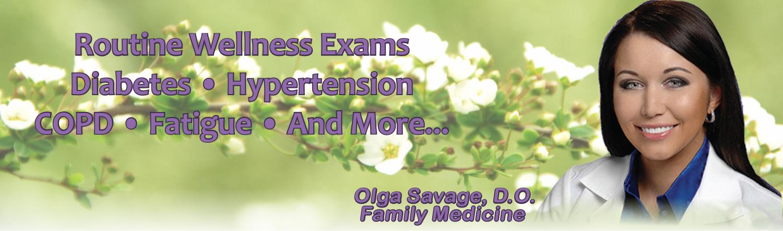 Olga Savage, D.O. Family Medicine