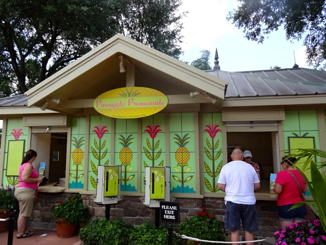 Pineapple Promenade at Disney's Epcot Theme Park