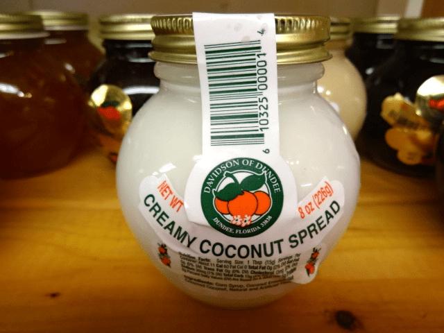 Creamy Coconut Spread
