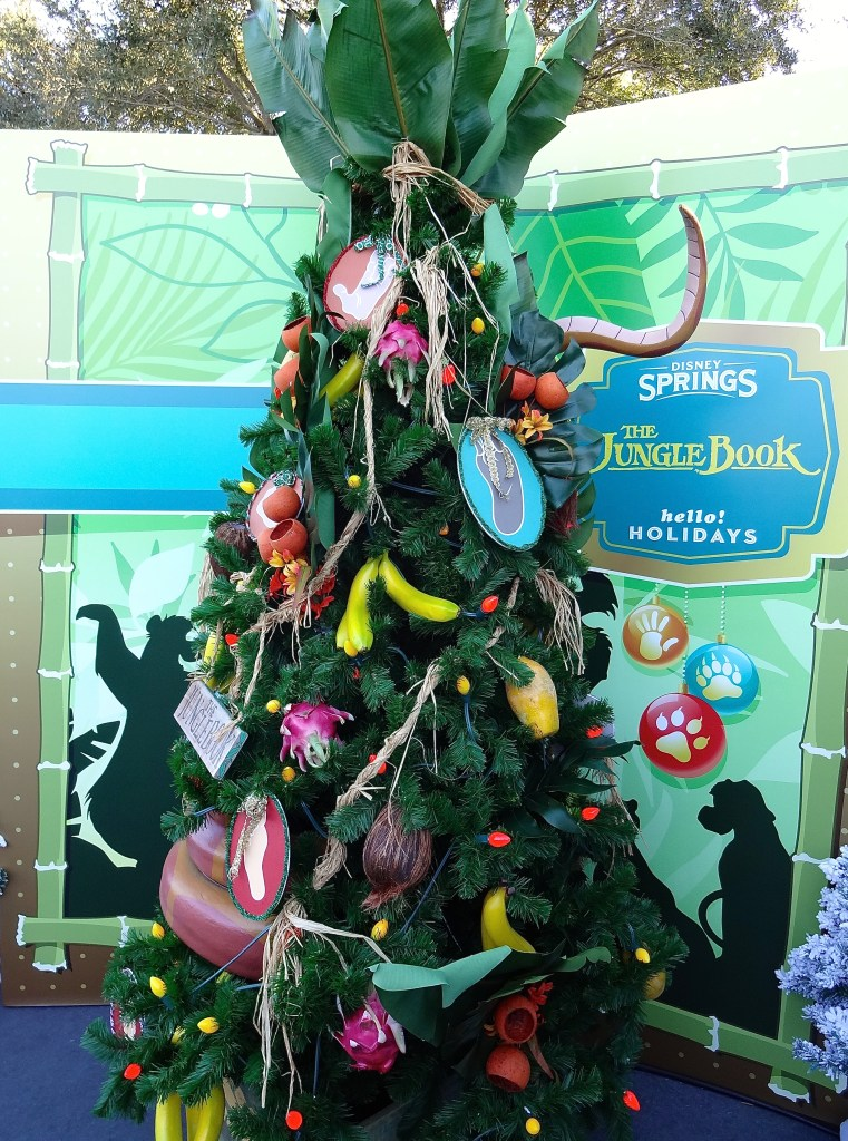 Jungle Book Themed Christmas Tree