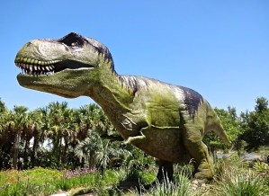 Dinosaur Invasion Exhibit at Leu Gardens Orlando Florida