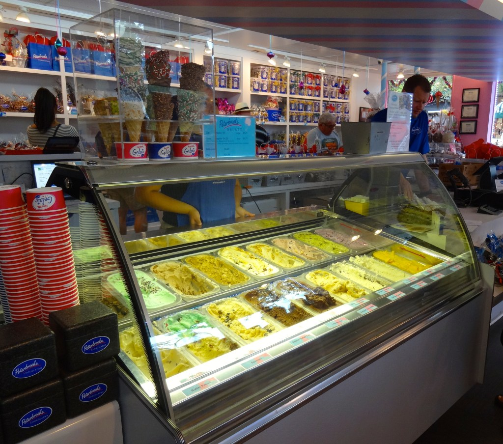 20 Gelato Flavors at Peterbrooke Chocolatier